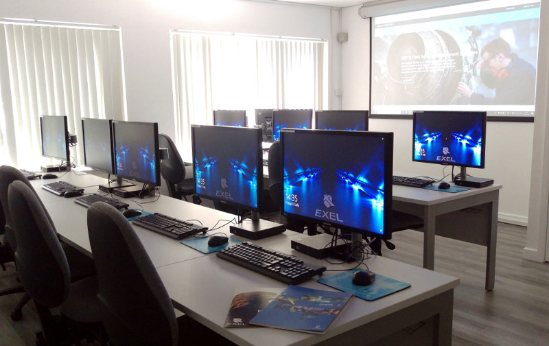 ERP Software training room