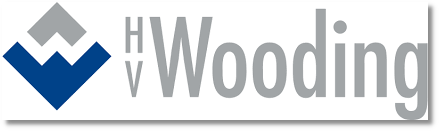 Logo for ERP client HV Wooding