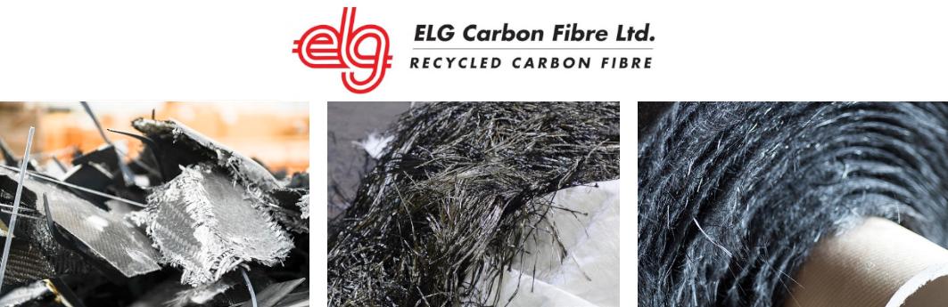 Exel Client ELG Carbon Fibre - logo and carbon fibre products